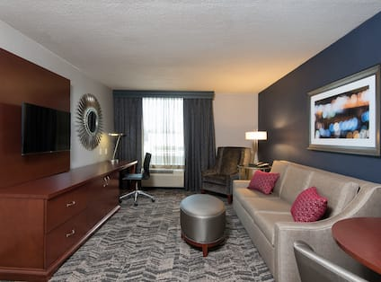 Living Area of Two Room Suite