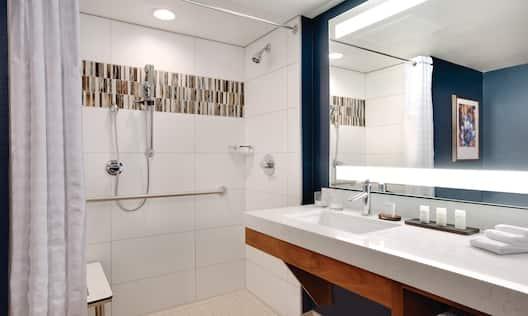 Accessible Bathroom Shower