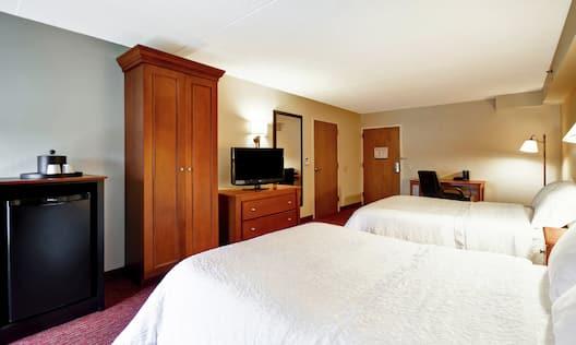 Queen Beds View