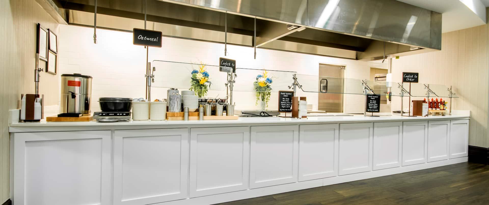 Breakfast Area Serving Stations