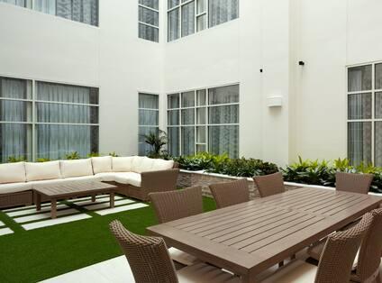 Atrium Seating Area