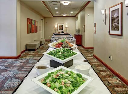 Event Layout and Catering with Fresh Food Options