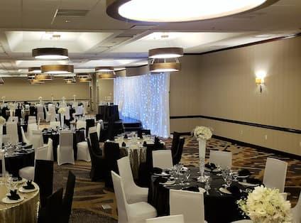 Embassy Ballroom Wedding Setup
