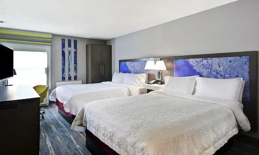 Double Queen Guest Bedroom