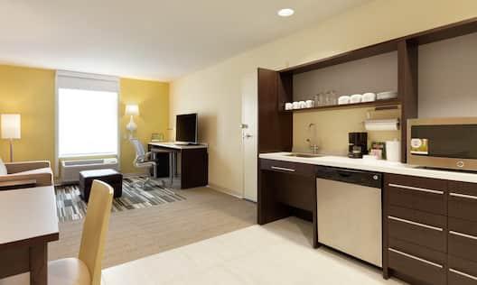 Accessible Suite Kitchen Area
