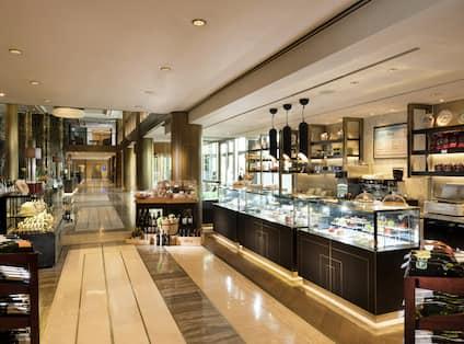 Delicatessen and Tea Lounge Area
