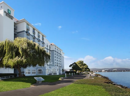 Hotel Exterior With Bay View