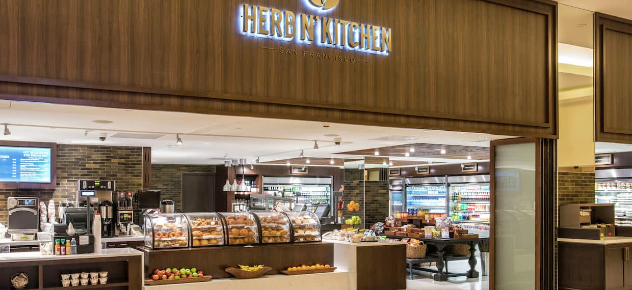 Herb N Kitchen Market at Hotel
