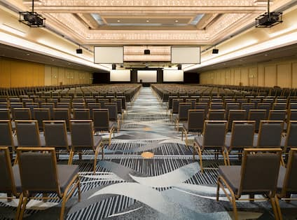 Ballroom with Conference Seating
