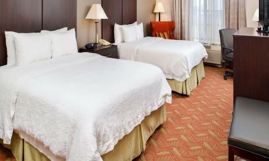 Hampton Inn & Suites San Francisco-Burlingame-Airport South Hotel, CA - Double Queen Beds