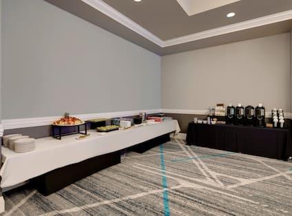 event food setup