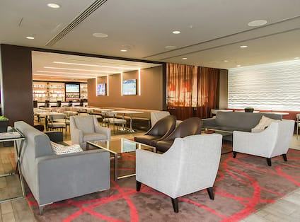 Hotel Lounge Seating Area