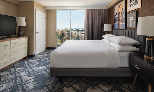 1 King Bed Guest Suite