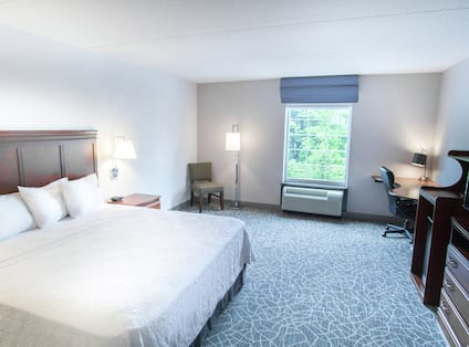 King Accessible Guest Room with Desk