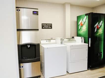 Hotel Laundry Room