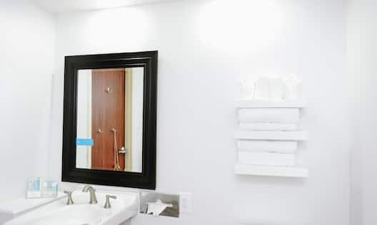 Accessible King Guestroom Bathroom
