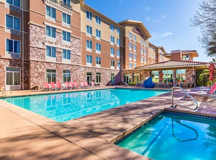 View of Hotel Outdoor Pool Area