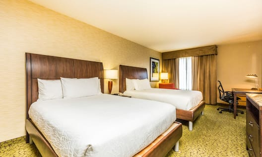 Accessible Double Queen Room with Desk
