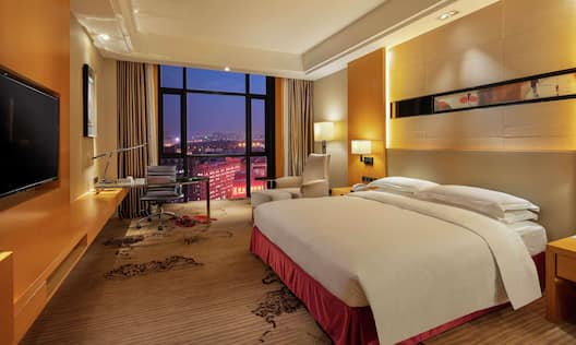Executive Room with King Bed and City View