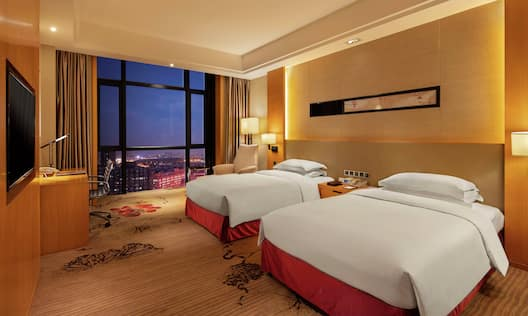 Executive Room with Double Twins and City View