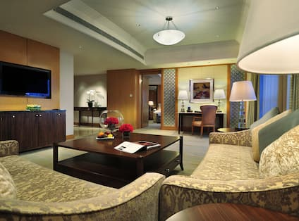 Impeiral Suite Living Area