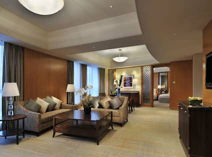 Suite Living Area with Seating