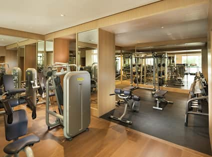 Interior View of Fitness Facilities