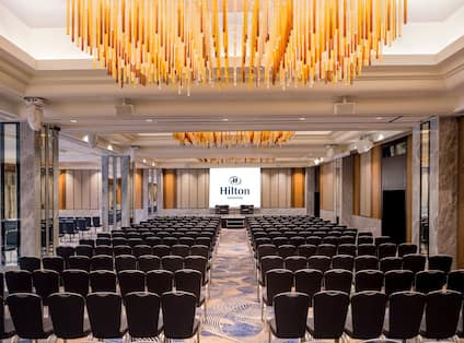 Rows of Chairs in Grand Ballroom