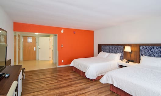 Guestroom with Two Queen Beds and Room Technology