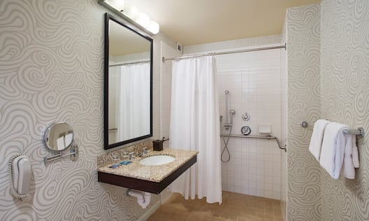 King Deluxe Accessible Shower