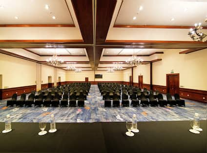 Cocoris Ballroom set up for a conference