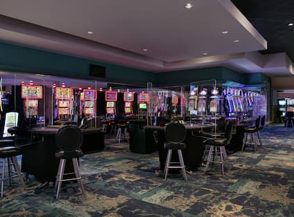 On-site Oasis Casino for guests to enjoy.