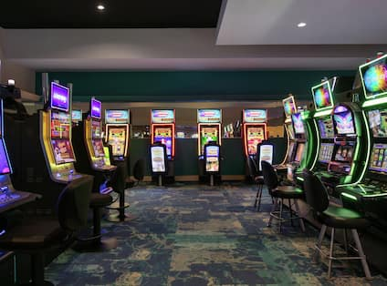 On-site Oasis Casino fully equipped for guests entertainment.