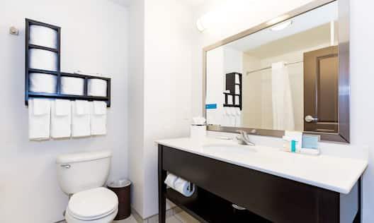 Standard Guestroom Bathroom Vanity