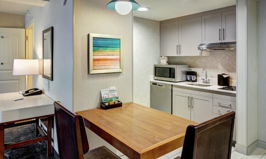 Accessible Kitchen and Cozy Dining Area