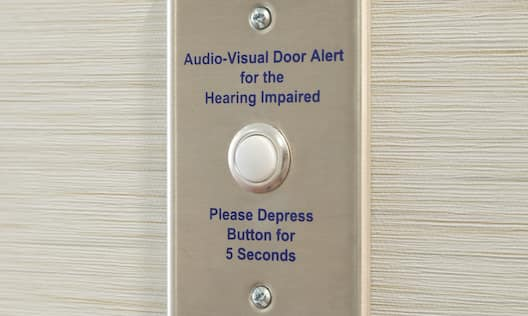 Audio Visual Door Alert for the Hearing Impaired