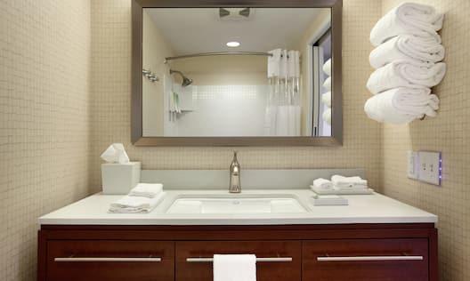Vanity in Guest Bathroom