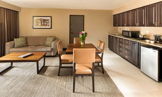 Guest Room Living Area
