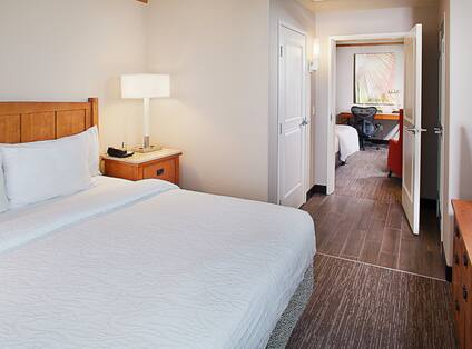 Family Suite with King Bed, Work Desk and Television