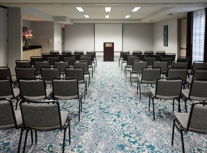 Private Conference Room with Theater Setup