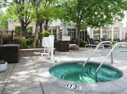 Outdoor Whirlpool Spa