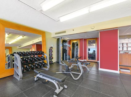 Fitness Center and Free Weights
