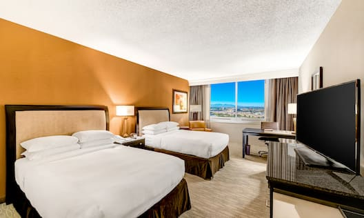 Two Sweet Dreams by DoubleTree Double Beds Facing TV