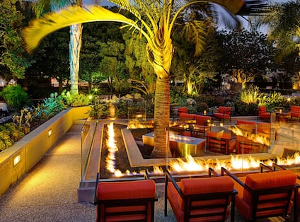 Outdoor Patio with Firepit