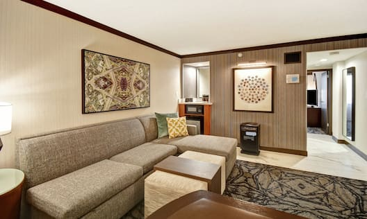 Pure Wellness Suite Living Area