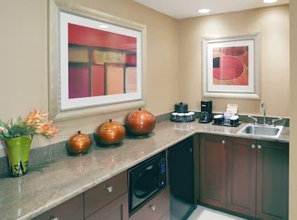 Presidential Suite Kitchen