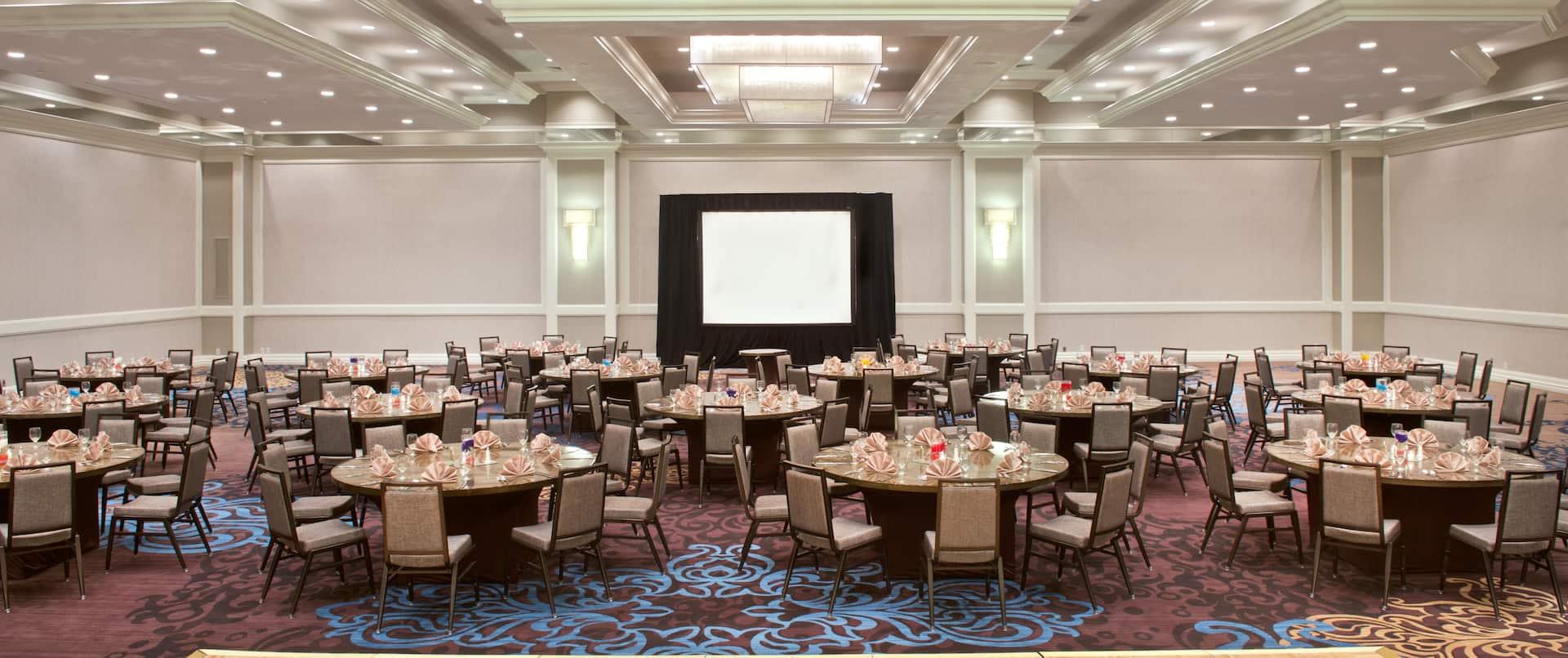 Banquet Round Dance Floor