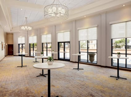 Pre-Function Area with Large Windows
