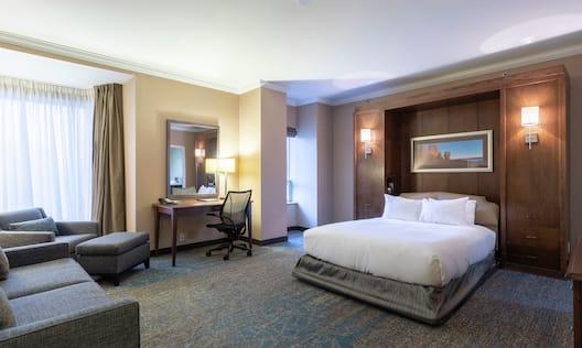 Queen Bedroom with Lounge Area