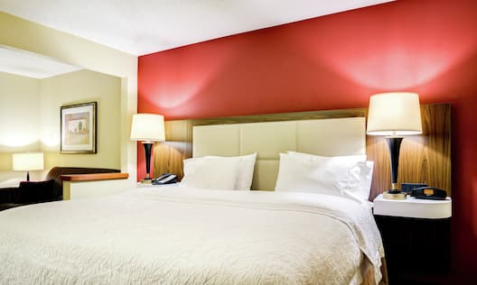 Guest Room with Comfy King Bed